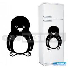Adesivos Geladeira Pinguim