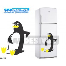 Adesivos Geladeiras Pinguim