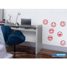 Adesivo Kit Emoji/Emoticons