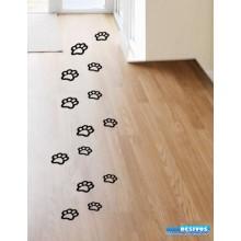 Adesivo Decorativo de Parede Pegada de Gato