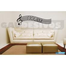 Adesivos Músicais House