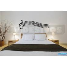 Adesivos Músicais Tango