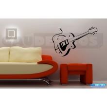 Adesivos Musicais Guitarra - Violão