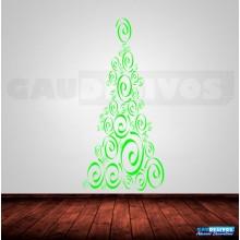 Adesivos De Natal Arvore em risco