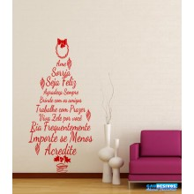 Adesivo Decorativo de Natal Árvore e Enfeites