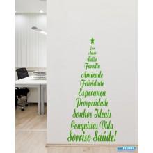 Adesivo Decorativo de Parede de Natal
