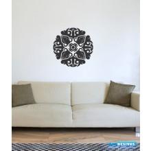 Adesivo Decorativo De Parede Para Casa, Mandala
