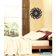 Adesivo Decorativo De Parede Para Casa, Mandala Aspiral