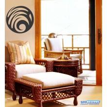 Adesivo Decorativo De Parede, Vidro Mandala Em Ondas