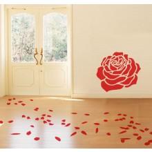 Adesivo Caminho de Petalas do Dia dos Namorados
