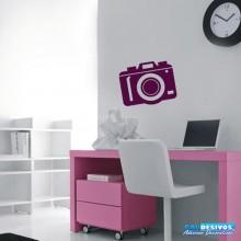 Adesivo Câmera Simples