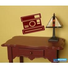 Adesivo Câmera Polaroide