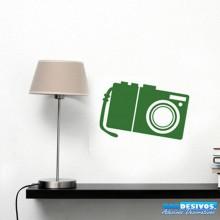 Adesivo Câmera Digital