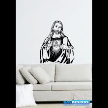 Adesivo Decorativo de Parede Religioso Jesus Cristo