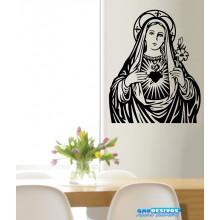 Adesivo de Parede Religião Maria Mãe de Deus