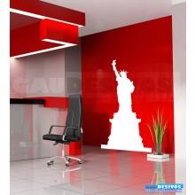 Adesivos de estatua nova york