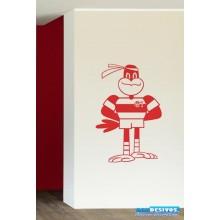 Adesivo Mascote Flamengo