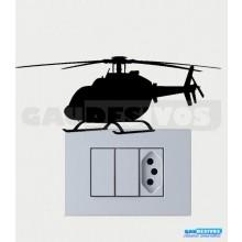 Adesivos Tomadas Helicóptero