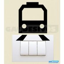 Adesivos Tomadas Transporte