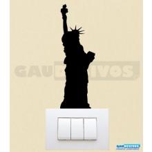 Adesivos Tomadas Estatua da Liberdade