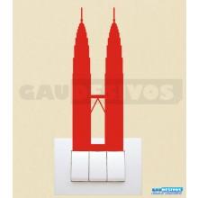 Adesivos Tomadas Torres Petronas