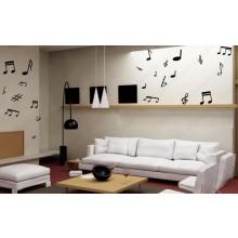 Adesivo Kit Notas Musicais