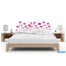 Cabeceira de flores